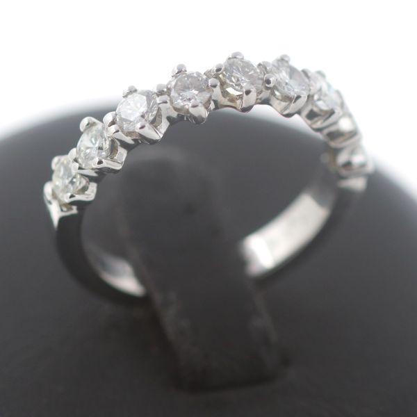 Memory Brillant Luxus Ring 750 Gold Diamant 18 Kt Weißgold Wert 2500,-