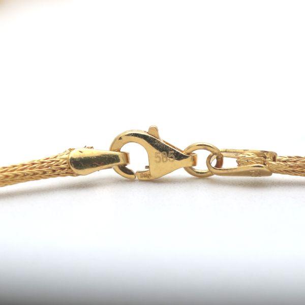 Designer Armband 750 Gold 18 Kt Armreif Gelbgold Zirkonia Wert 3980,-
