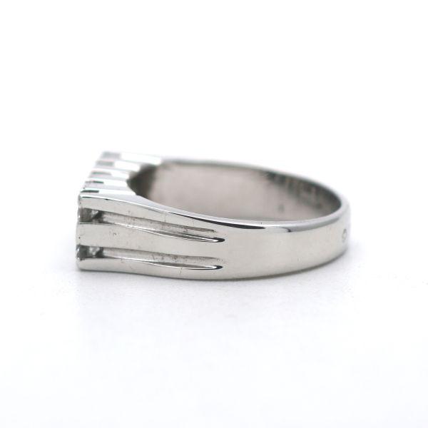 Diamant Ring 585 Gold 14 Kt Bicolor 0,75 Ct Brillant Wert 2100,-