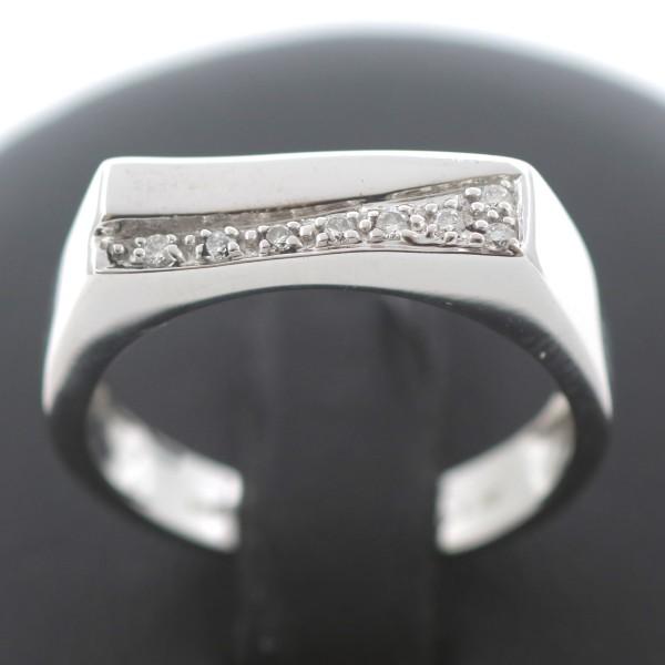 Brillant Ring 585 Gold Diamant 14 Kt Weißgold Wert 699,-