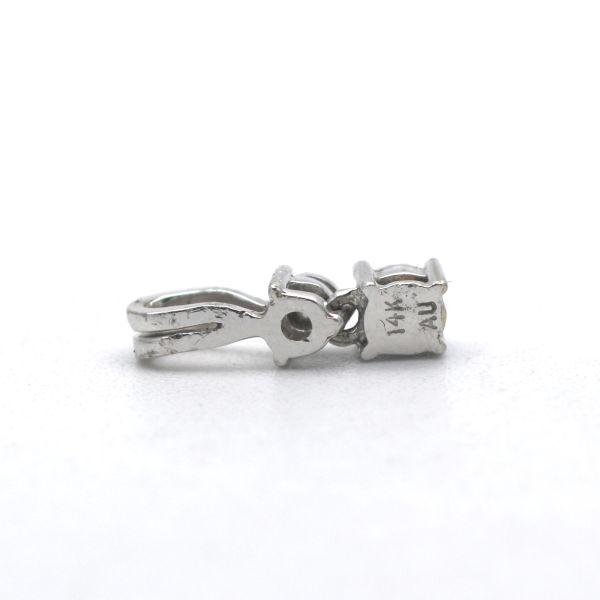 Diamant Smaragd 750 Gold Anhänger 18 Kt Brillant Weißgold Wert 990,-