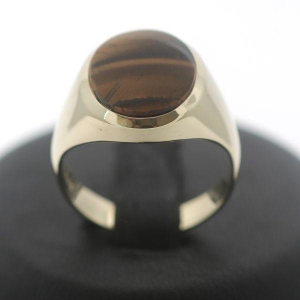 Eleganter Ring 585 Gold 14 Kt Gelbgold Zirkonia Wert 230,-