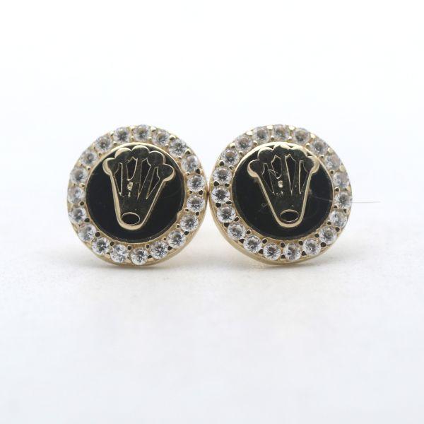 Solitär Blau Topas Ring 333 Gold 8 Karat Gelbgold Edelstein Wert 290,-