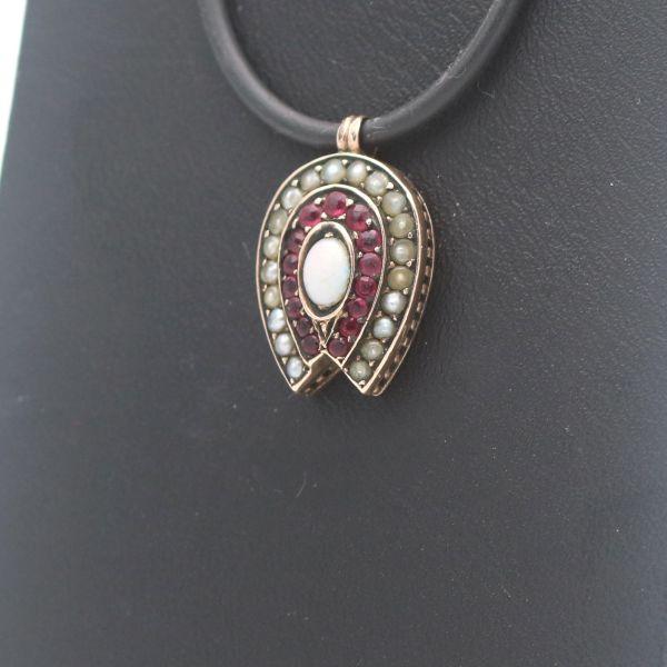 Herz Zirkonia Ring 750 Gold 18 Kt Bicolor Wert 490,-