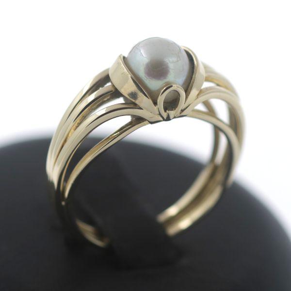 Granat Ring 333 Gold 8 Kt Gelbgold Granatschmuck Edelstein Wert 450,-