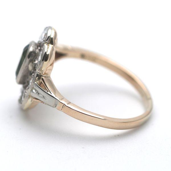 Saphir Ring 333 Gold 8 Karat Gelbgold Edelstein Zirkonia Wert 180,-