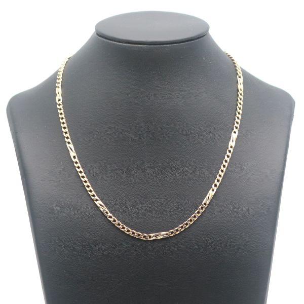 Feine Schlangenkette 333 Gold 8 Kt Gelbgold Kette 42 cm Wert 290,-