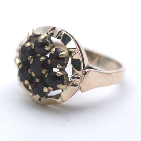 Bernstein Ring Gold 333 Natur 8 Kt Gelbgold Wert 370,-