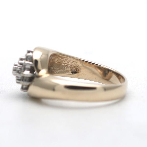 Solitär Blau Topas Ring 333 Gold 8 Karat Gelbgold Edelstein Wert 360,-