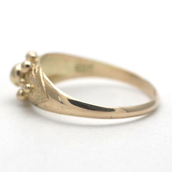 Ring 585 Gold 14 Karat Gelbgold Diamant 0,17 CT Wert 880,-