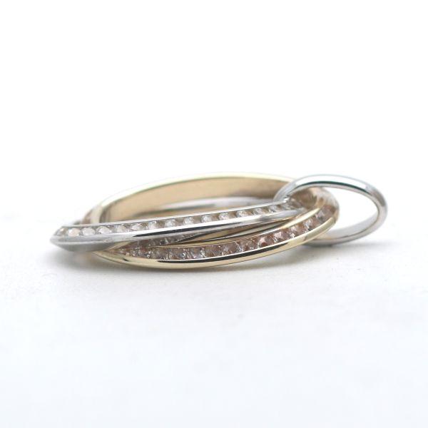 Diamant Smaragd Ring 585 Gelbgold 0,25 Ct Brillant 14 Karat Gold Wert 1390,-
