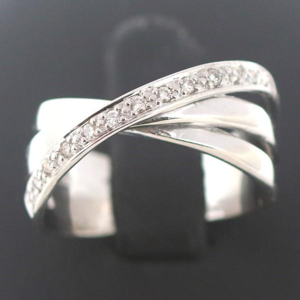 Brillant Ring 585 Gold Diamant 14 Kt Weißgold Wert 1080,-