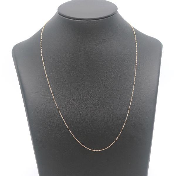 Feine Kette 375 Gold 9 Kt Gelbgold 42 cm Wert 160,-
